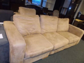 LARGE SOFA AND CHAIR, SOFA IS A SOFABED TOO