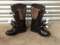 Motocross boots. Size 9