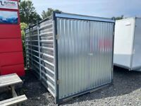 Brand New Flat Packed 4 Metre Galvanised Steel Container
