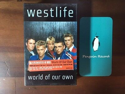 Westlife - World Of Our Own CASSETTE TAPE KOREA EDITION SEALED
