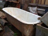 Cast iron bath