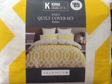 Brand New KING Size Quilt Cover Set Wandi Kwinana Area Preview