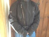 Ladies Goretex Textile Motorcycle Jacket.