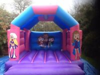 Bouncy Castles, Slide, Gladiator Dual with fans mats etc Ideal New Business