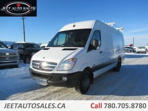 2012 Mercedes-Benz Sprinter Dually with Roof Rack