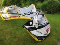 Kitesurfing gear