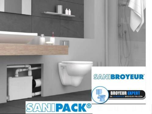 Sanibroyeur Toilet Aansluiten : ≥ sanibroyeur sanipack fecaliënvermaler u ac sanitair