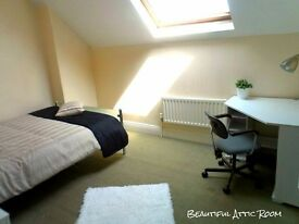 Big Double Room In Modern House, Selly Oak, Selly Park, Birmingham, 10 Mins From The City Centre!