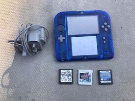 Nintendo 2ds with 4 great games!