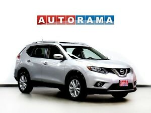 2016 Nissan Rogue PANORAMIC SUNROOF 4WD BACKUP CAM ALLOY WHEELS