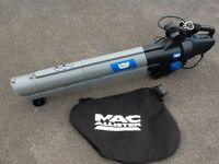 MACAllister 2800W Electric Blower/Vacuum Leaf collector