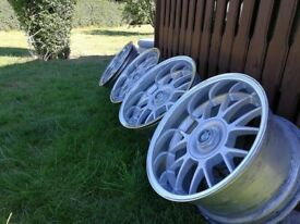 Intra CR 17s STAGGERED J8.5/J9.5 4XET30 BMW E28 E30 E32 E34 E36 E46
