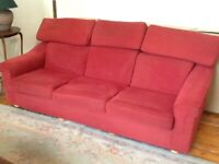 Sofa and Two Armchairs from Reids, West End Glasgow