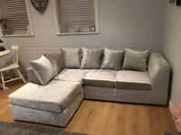 FASTEST DELIVERY ROUTE!! DYLAN CRUSH VELVET CORNER & 3+2 +ARM CHAIR ALSO AVAILABLE