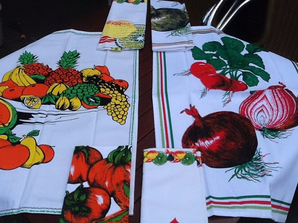 New large thick tea towels assortment patterns