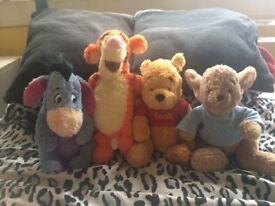 "Winnie The Pooh 9"" teddy set"