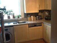 Floor and wall kitchen units, work surfaces, Bosch oven and hob for sale