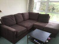 Nabru L-Shaped Sofa Bed - Great Condition