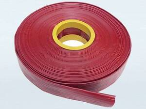 """2"""" / 50mm x 20m, RED HEAVY DUTY LAYFLAT DISCHARGE HOSE Thornlands Redland Area Preview"""