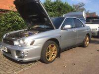 Subaru Impreza WRX 2001 UK Spec