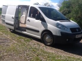 FIAT SCUDO / DISPATCH 2.0 HDI 6 SPEED TWIN SL DOORS 3 SEATER CAB ONE FORMER KEEPER MOT PLYLINED CLN.