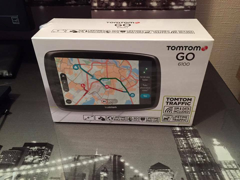 tomtom go 6100 sat nav with mydrive lifetime traffic lifetime world maps in margate kent. Black Bedroom Furniture Sets. Home Design Ideas