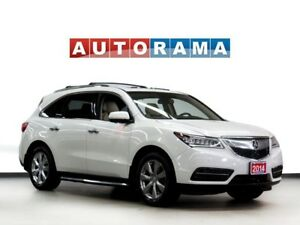 2014 Acura MDX TECH PKG NAVIGATION LEATHER SUNROOF 7 PASS 4WD