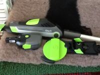 GTech cordless HedgeTrimmer + branch cutter