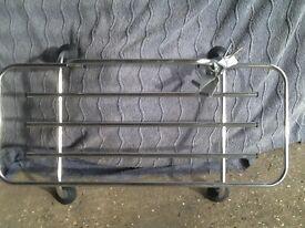 Luggage car boot rack