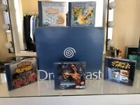 Dreamcast bundle boxed with games