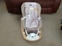 Chicco I Feel Baby Bouncer / Rocker Grey