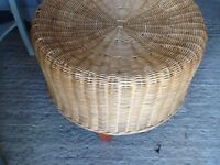 Rattan Stool/Bedside/ Side or Coffee Table