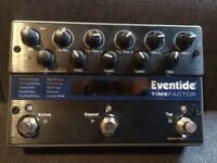 Used Eventide TimeFactor Dual Delay Pedal