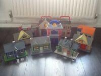 Firman Sam Postman Pat Spider-Man toy house play sets