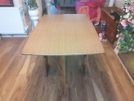 Folding Gateleg Dining Table