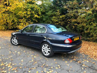 stunning x type jaguar 2007 DIESEL 2.2 ( f,s,h, ) full m.o.t. 155k . with every concievable extra
