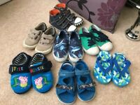 Boys toddlers shoes daps and sandals size 7