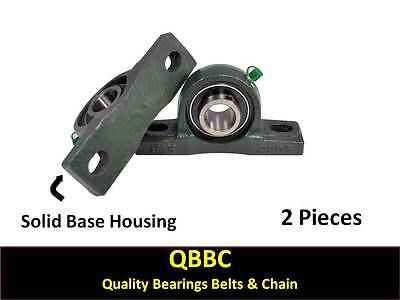 Qty. 2 Ucp206-19 1-316 Pillow Block Bearing Unit Solid Base Housing Fk