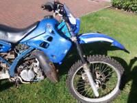Kawasaki kdx 125 breaking or spares/repairs