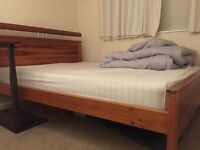 King Size Bed with Free House of Fraser Mattress