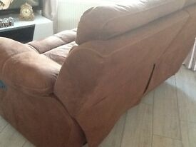 Double recliner two seater sofa,excellent condition reason for selling no room in new home