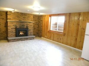 One Bedroom Basement Apartment