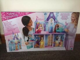 New in box Disney princess castle