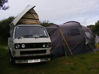 Fantastic winter project for any VW enthusiast. White T25 Transport Van