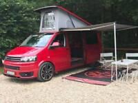 VW T5 Campervan, LWB, 2010, 140bhp 6 speed