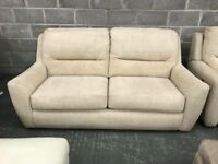 DFS 3 seater sofa and 2 x recliner Armchairs