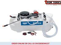 Draper 34676 60l 12v Dc Atv Spot/ Broadcast Sprayer