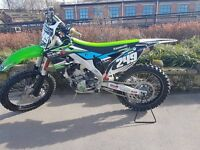 Kawasaki kxf250 2015 1OWNER FROM NEW (MINT CONDITION)