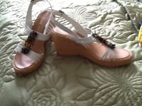 Two pairs sandals never worn size 41 £15.00 each
