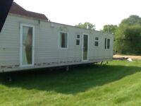 2 bedroom static caravan. COSALT TORBAY SUPER . 36'x12'. Double glazed.